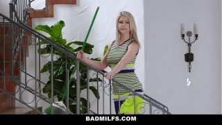BadMILFS – Stepdaughter and Hot MILF Share a Big Cock