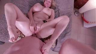 Big ass milf gets fucked in the ass