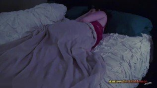 Coercing your step mom then fucking her while yourstepdads sharing the bed – Amiee Cambridge