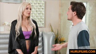 Father angry after StepMom fucked her Step Son again
