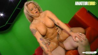 HausfrauFicken – Chubby German MILF Hardcore Pussy Fuck On Camera With Her Lover – AMATEUREURO