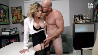 Hot Office MILF Seduced Into Anal By Her Well Hung Boss – Cory Chase