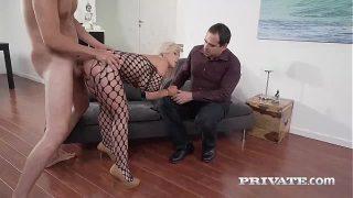 Milf Nikyta Enjoys Hard Anal While Her Husband Watches