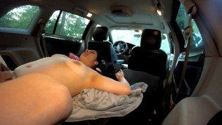 MILF Squirts all over SOLDIERS FACE in MINIVAN