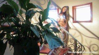 Nicole Aniston On The Set