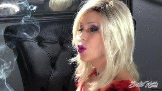 Nikki Ashton – SFW – Blonde MILF Goddess Chain Smoking More & Saratoga 120