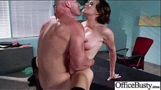 Round Big Boobs Girl (krissy lynn) In Sex Scene In Office clip-22